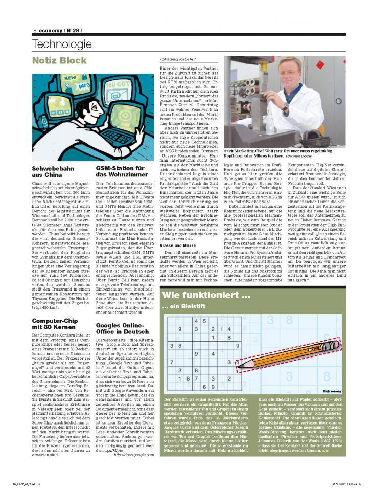 Heft Ausgabe Nr. 28 - Seite 8