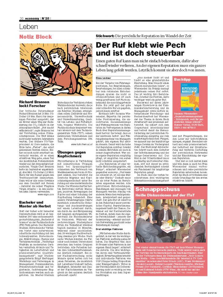 Heft Ausgabe Nr. 28 - Seite 30
