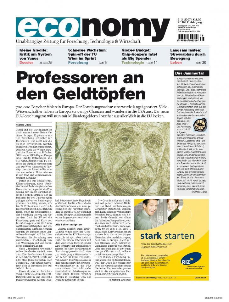 Heft Ausgabe Nr. 29 - Seite 1