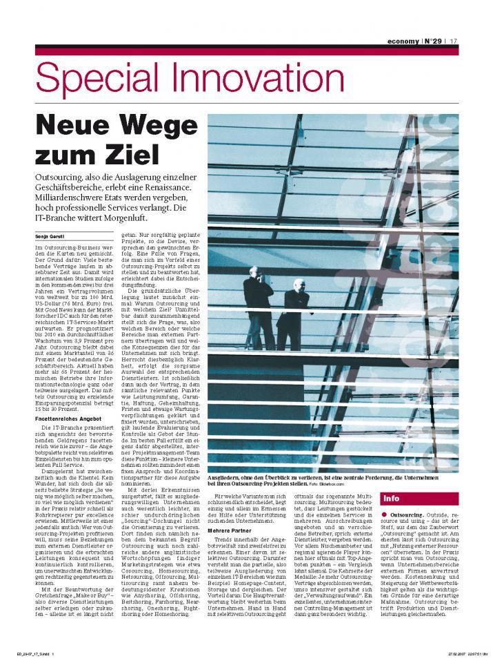 Heft Ausgabe Nr. 29 - Seite 17
