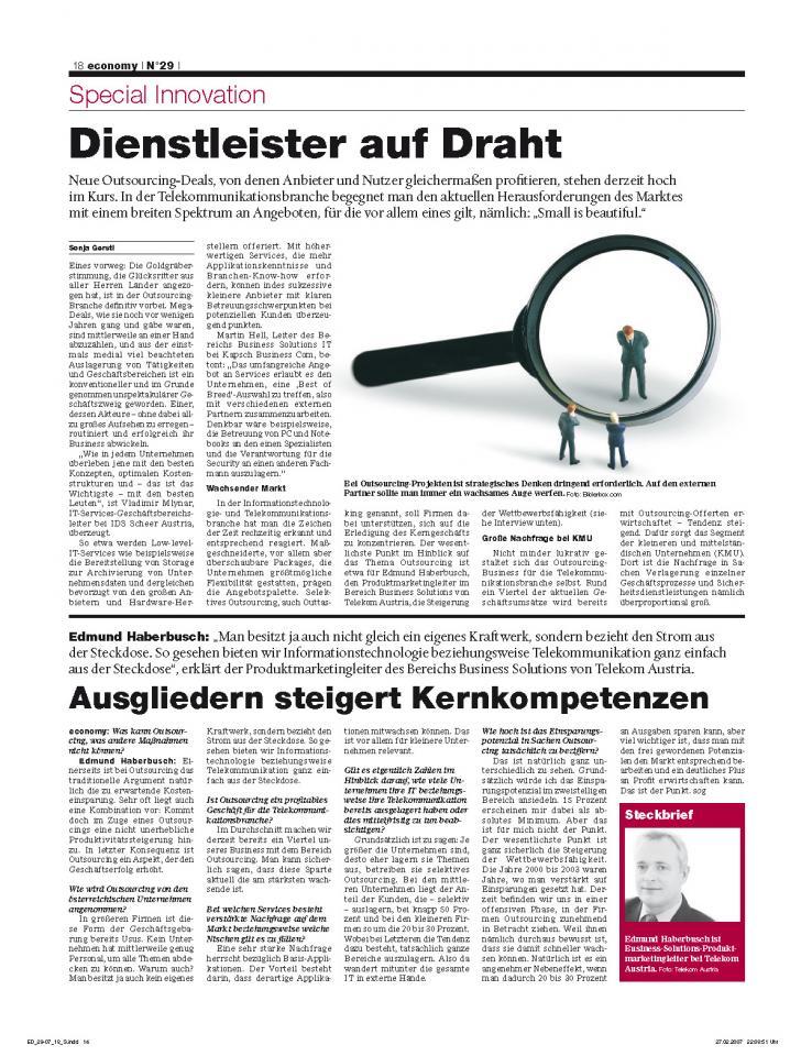 Heft Ausgabe Nr. 29 - Seite 18
