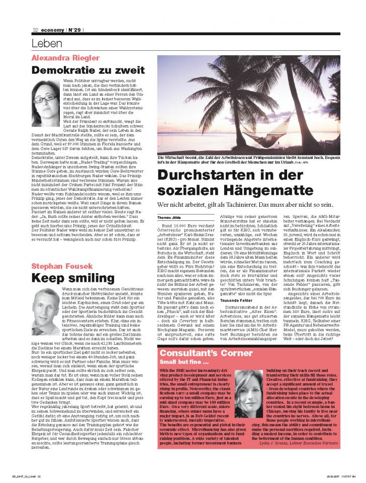 Heft Ausgabe Nr. 29 - Seite 32