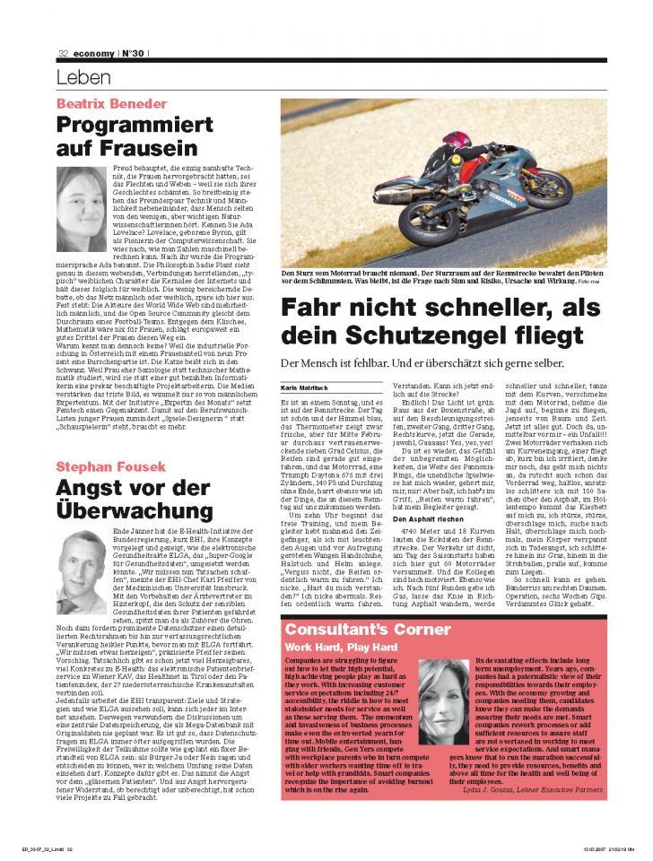 Heft Ausgabe Nr. 30 - Seite 32