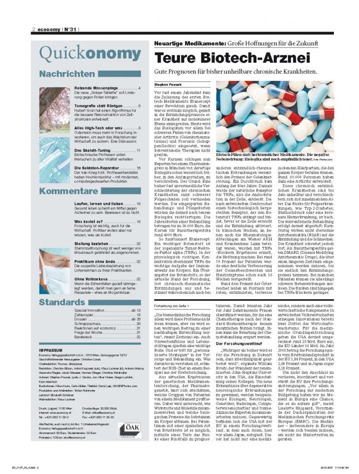 Heft Ausgabe Nr. 31 - Seite 2