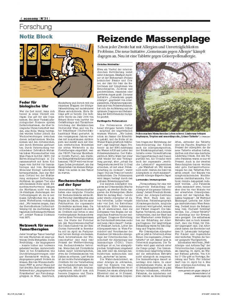Heft Ausgabe Nr. 31 - Seite 4