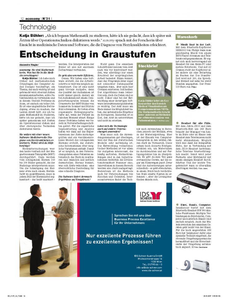 Heft Ausgabe Nr. 31 - Seite 12