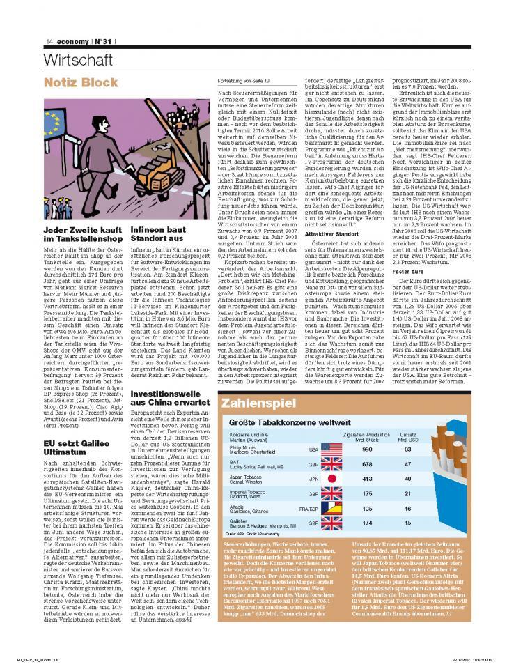 Heft Ausgabe Nr. 31 - Seite 14