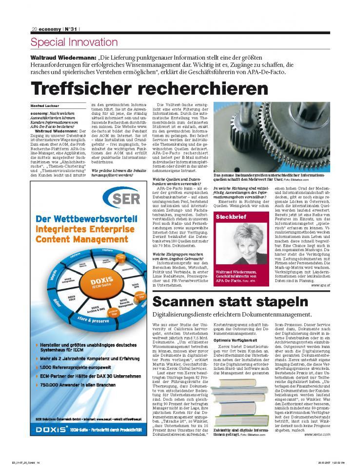 Heft Ausgabe Nr. 31 - Seite 20