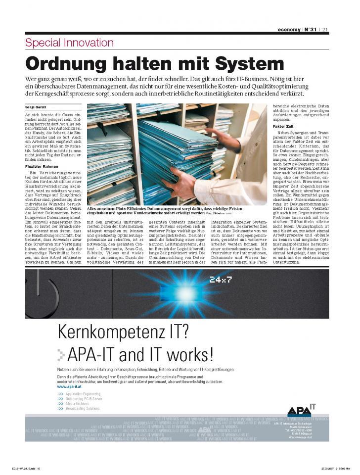 Heft Ausgabe Nr. 31 - Seite 21