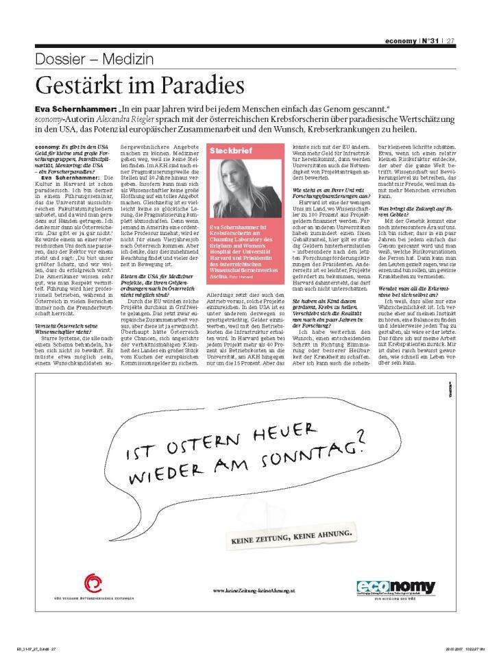 Heft Ausgabe Nr. 31 - Seite 27