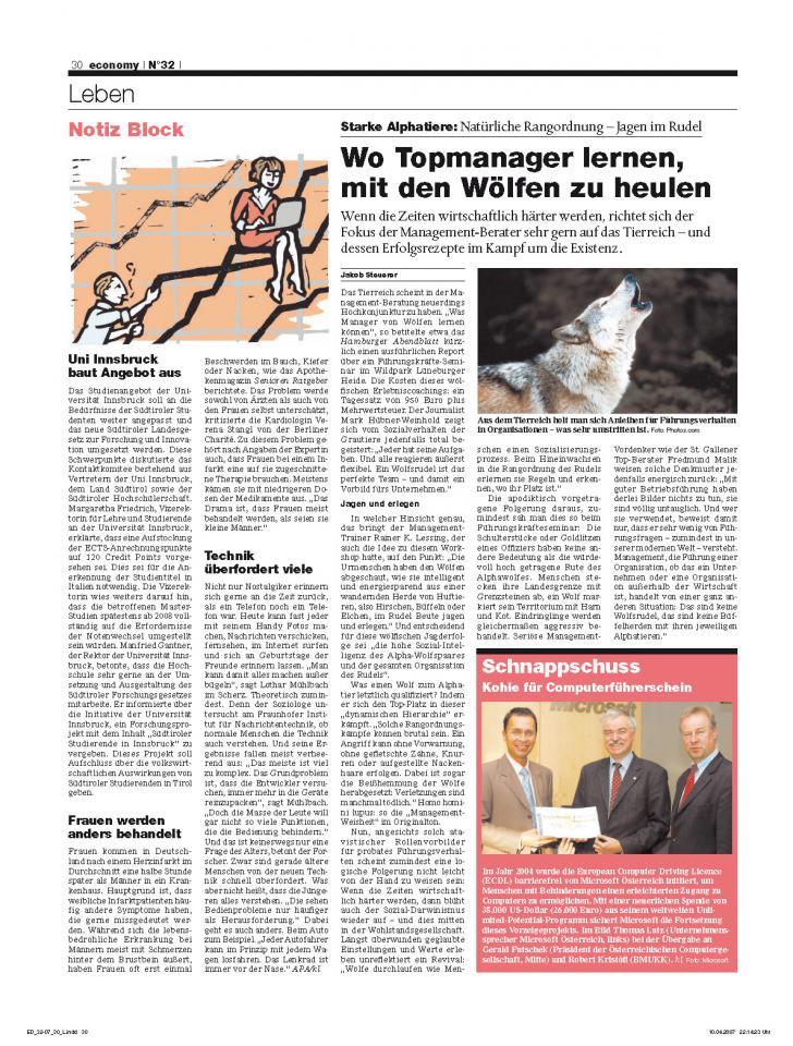 Heft Ausgabe Nr. 32 - Seite 30
