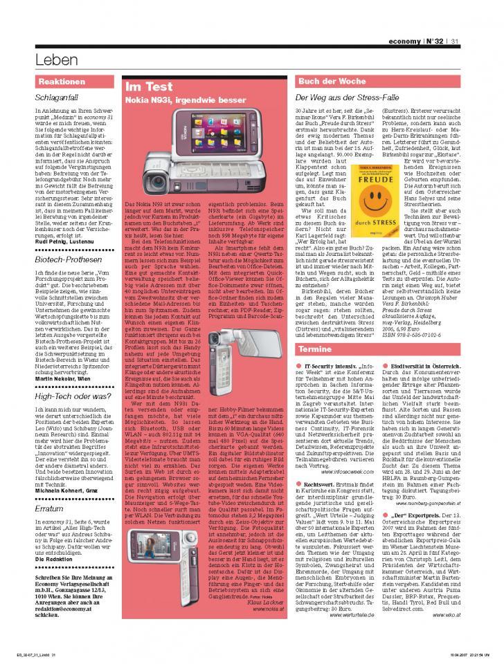 Heft Ausgabe Nr. 32 - Seite 31