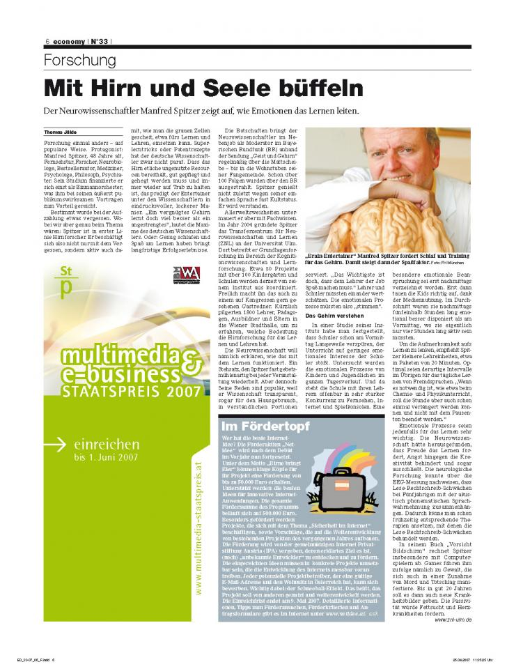 Heft Ausgabe Nr. 33 - Seite 6