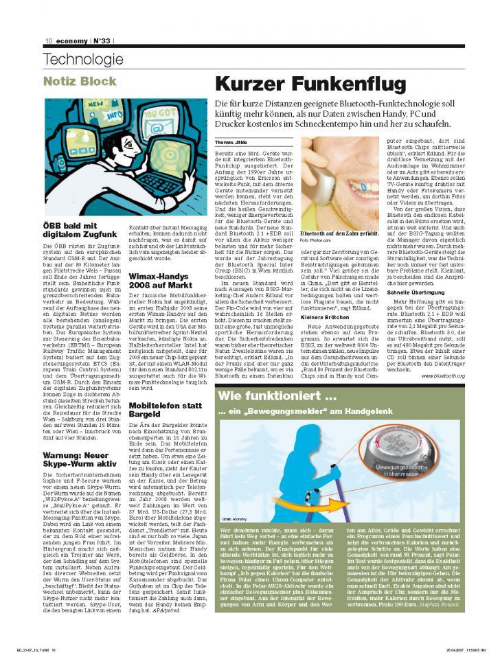Heft Ausgabe Nr. 33 - Seite 10