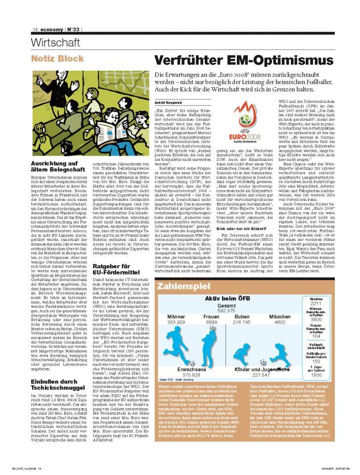 Heft Ausgabe Nr. 33 - Seite 14