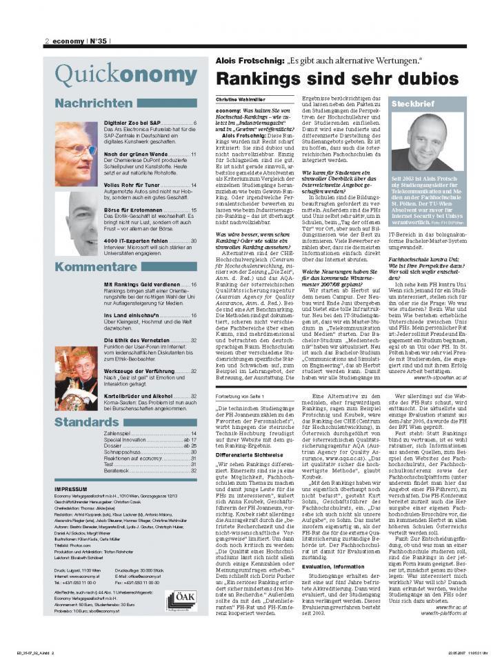 Heft Ausgabe Nr. 35 - Seite 2
