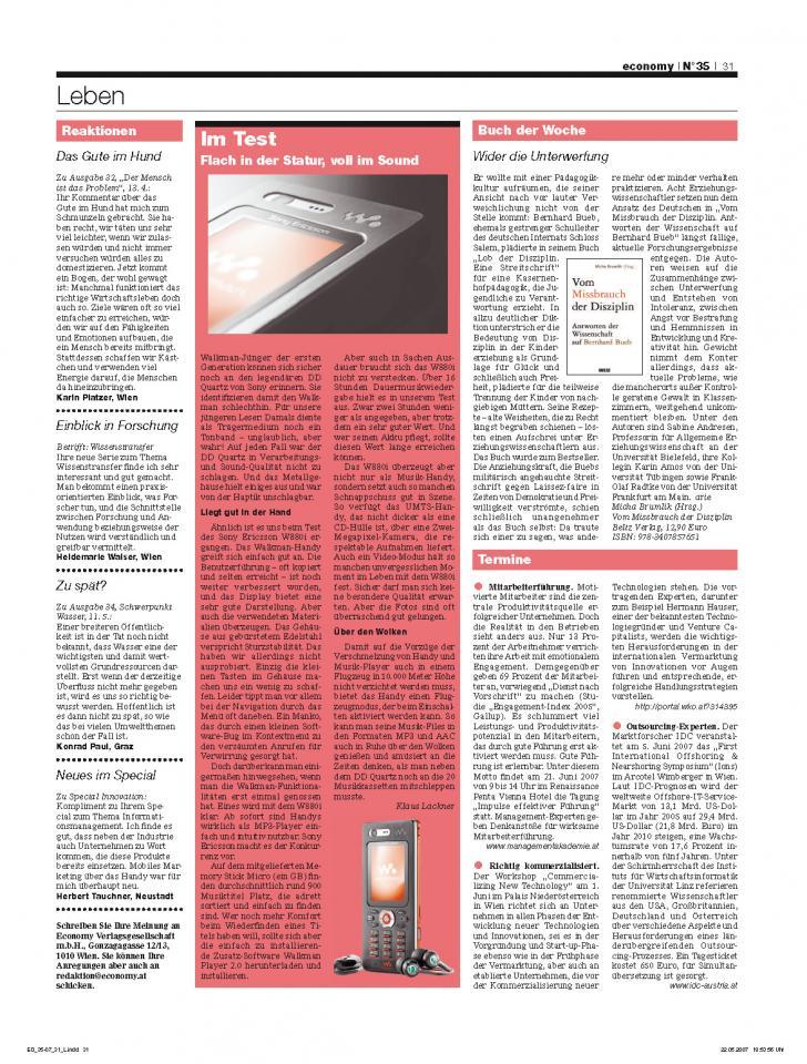 Heft Ausgabe Nr. 35 - Seite 31