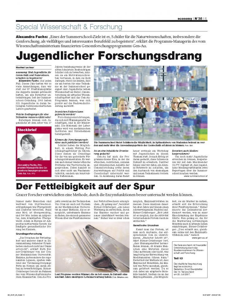 Heft Ausgabe Nr. 38 - Seite 5
