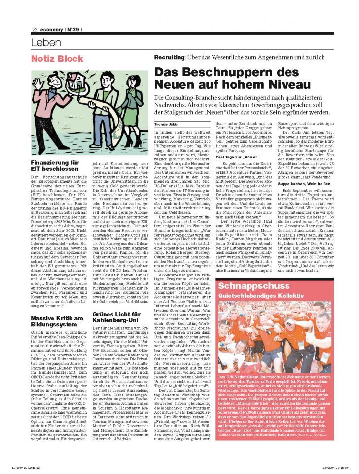 Heft Ausgabe Nr. 39 - Seite 22