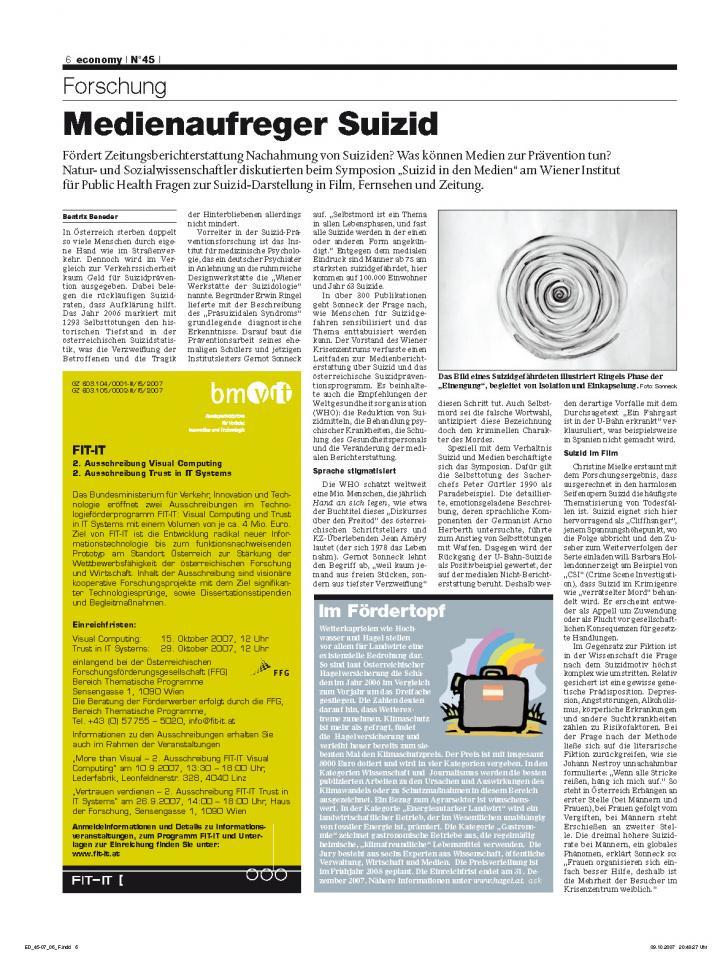 Heft Ausgabe Nr. 45 - Seite 6