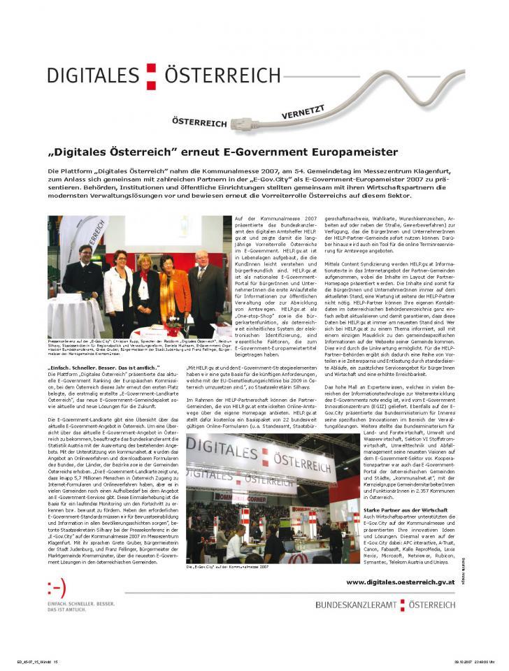 Heft Ausgabe Nr. 45 - Seite 15