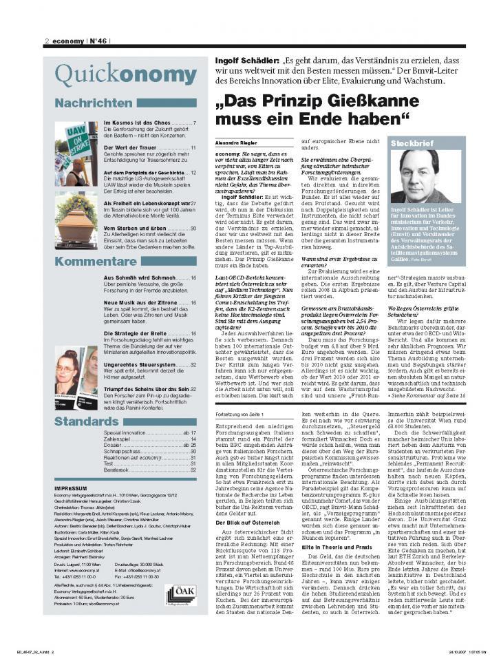 Heft Ausgabe Nr. 46 - Seite 2
