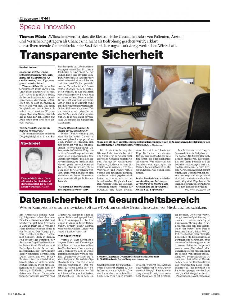 Heft Ausgabe Nr. 46 - Seite 22