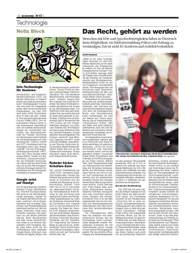 Heft Ausgabe Nr. 47 - Seite 10