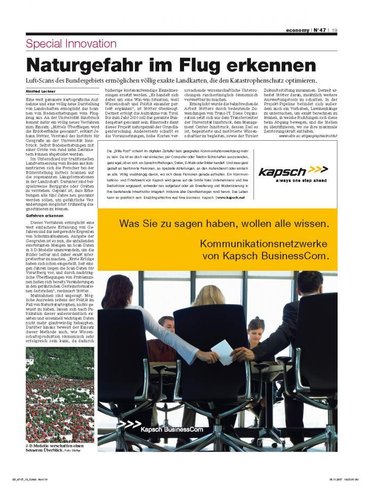 Heft Ausgabe Nr. 47 - Seite 19