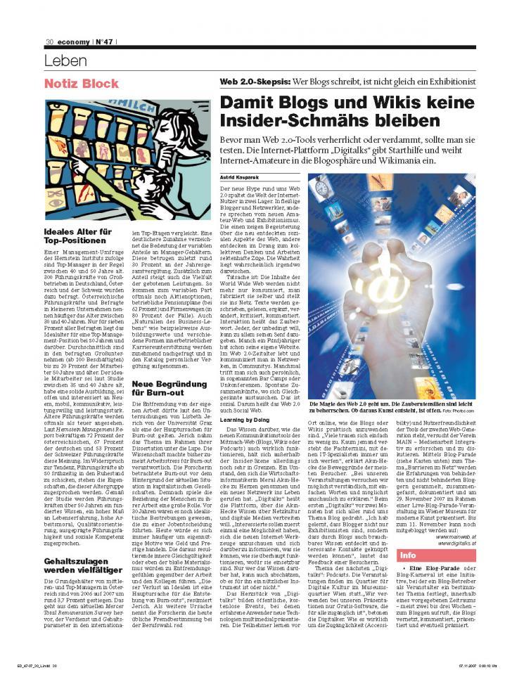 Heft Ausgabe Nr. 47 - Seite 30