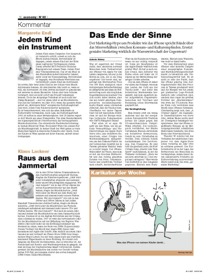 Heft Ausgabe Nr. 48 - Seite 16