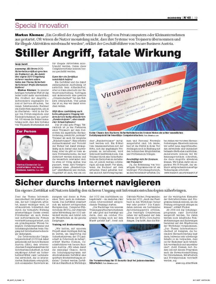 Heft Ausgabe Nr. 48 - Seite 19