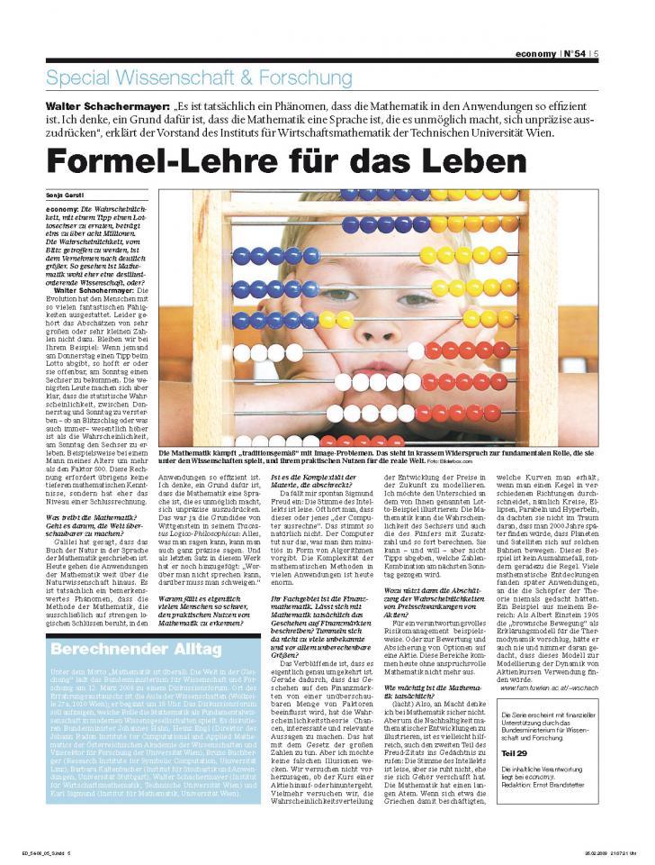 Heft Ausgabe Nr. 54 - Seite 5