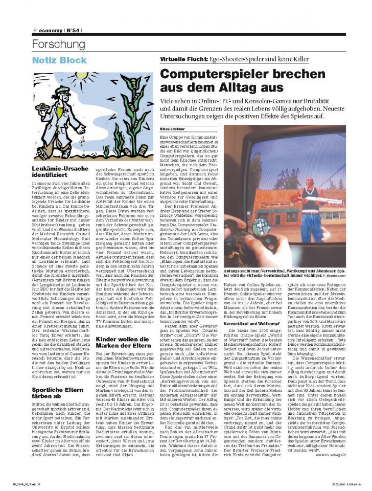 Heft Ausgabe Nr. 54 - Seite 6