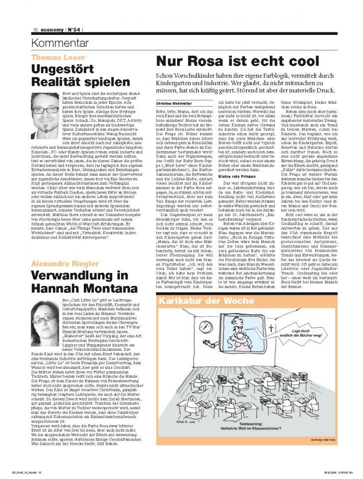 Heft Ausgabe Nr. 54 - Seite 16