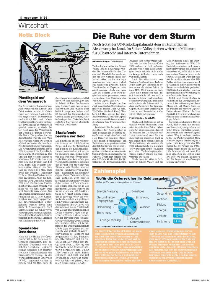 Heft Ausgabe Nr. 56 - Seite 16