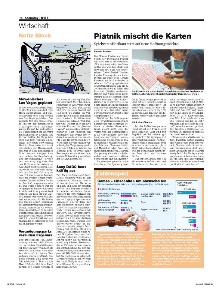 Heft Ausgabe Nr. 57 - Seite 16
