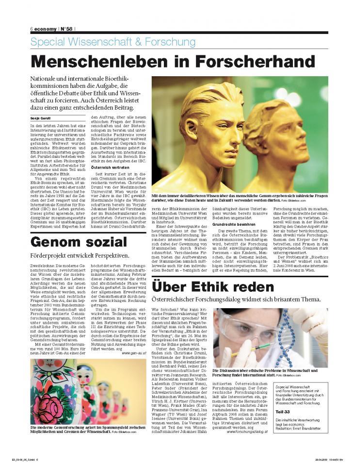 Heft Ausgabe Nr. 58 - Seite 6
