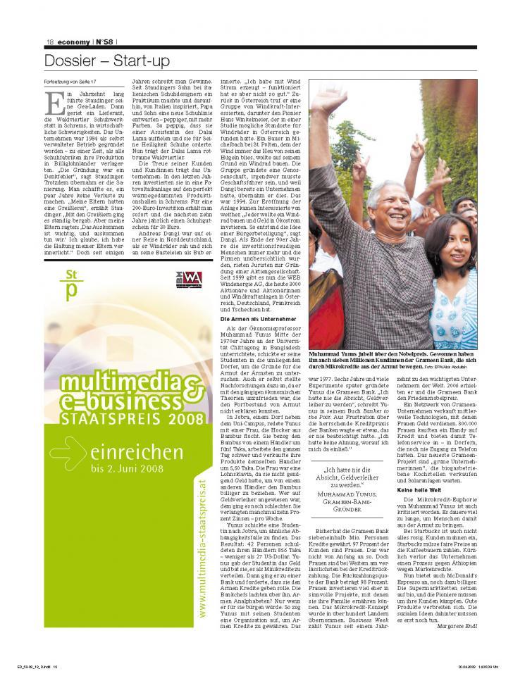 Heft Ausgabe Nr. 58 - Seite 18