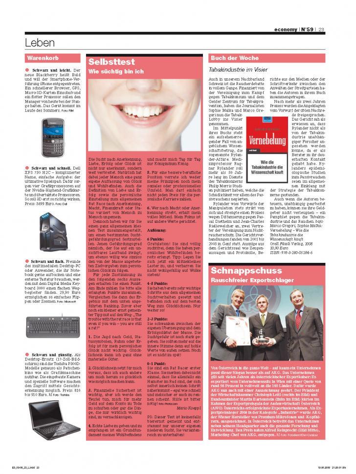 Heft Ausgabe Nr. 59 - Seite 23