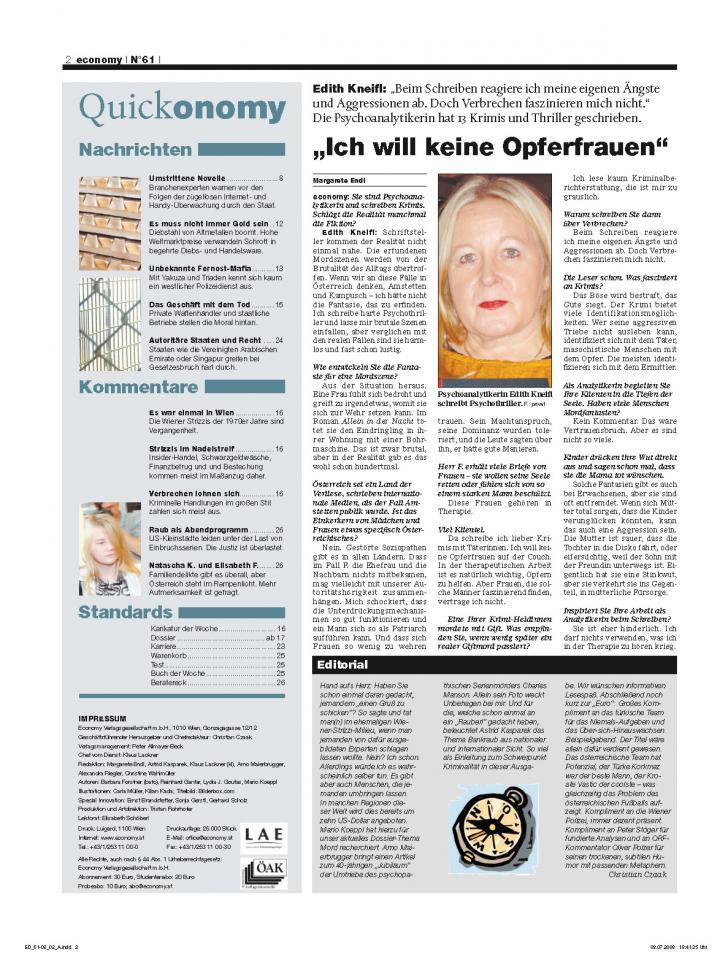 Heft Ausgabe Nr. 61 - Seite 2