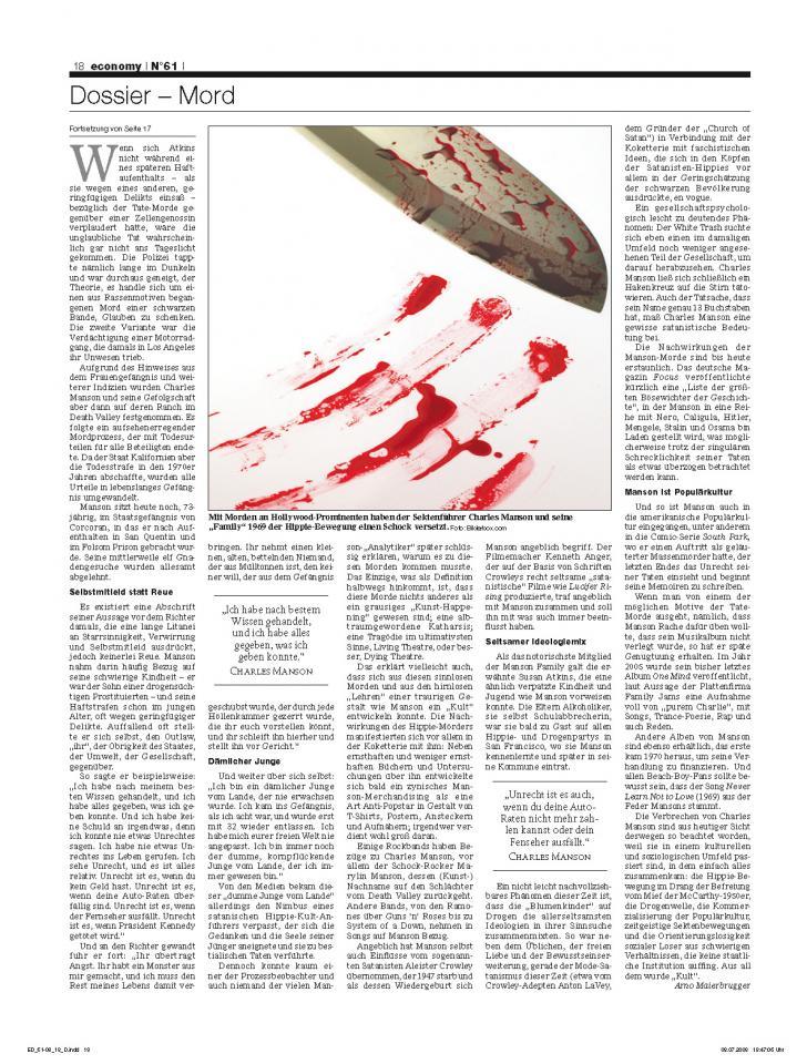 Heft Ausgabe Nr. 61 - Seite 18
