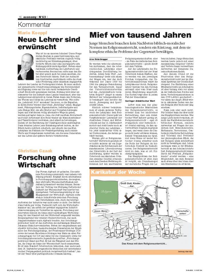 Heft Ausgabe Nr. 63 - Seite 16