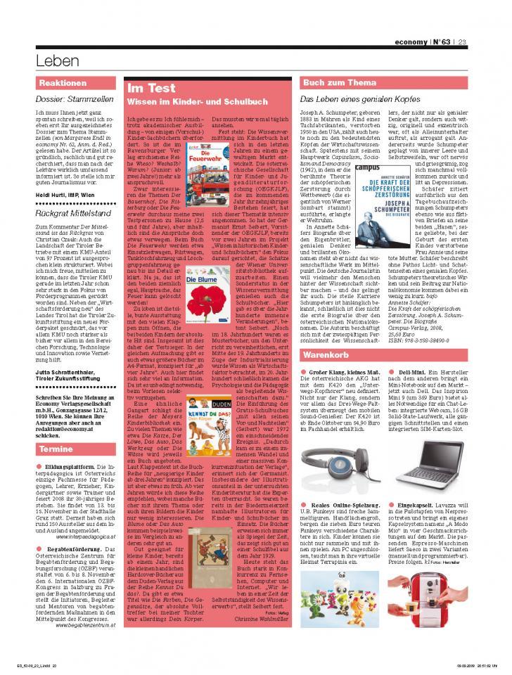 Heft Ausgabe Nr. 63 - Seite 23