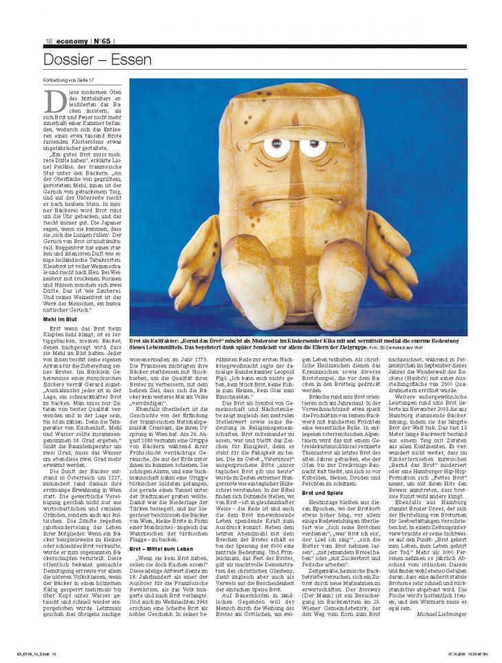 Heft Ausgabe Nr. 65 - Seite 18