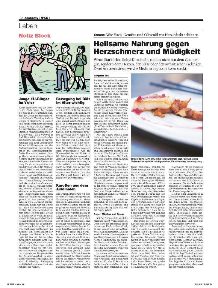 Heft Ausgabe Nr. 65 - Seite 22