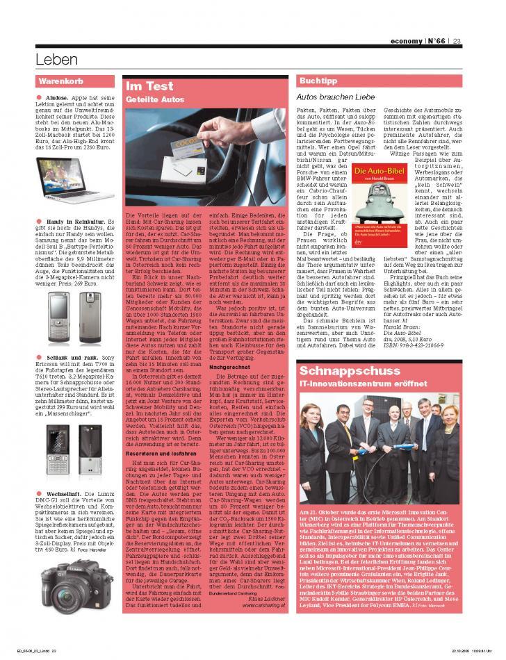 Heft Ausgabe Nr. 66 - Seite 23