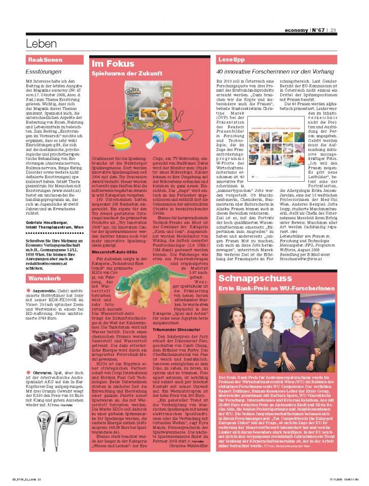 Heft Ausgabe Nr. 67 - Seite 23