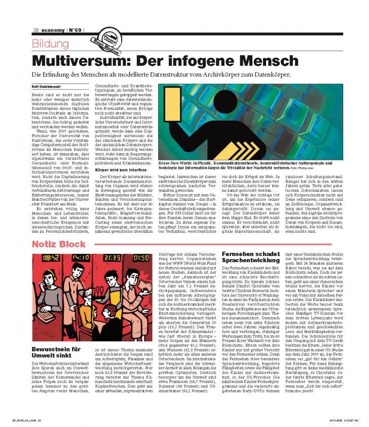 Heft Ausgabe Nr. 69 - Seite 28