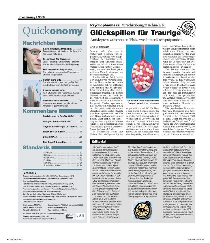 Heft Ausgabe Nr. 70 - Seite 2